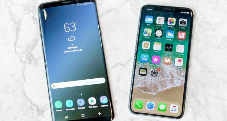 s 9 iphone x - Valeur de l'occasion : les iPhone atomisent les Samsung Galaxy
