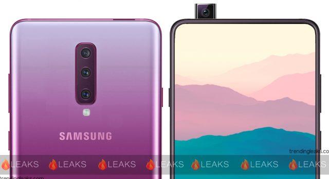 samsung galaxy a90 leak - Galaxy A90 : Samsung y intégrerait une caméra coulissante et rotative
