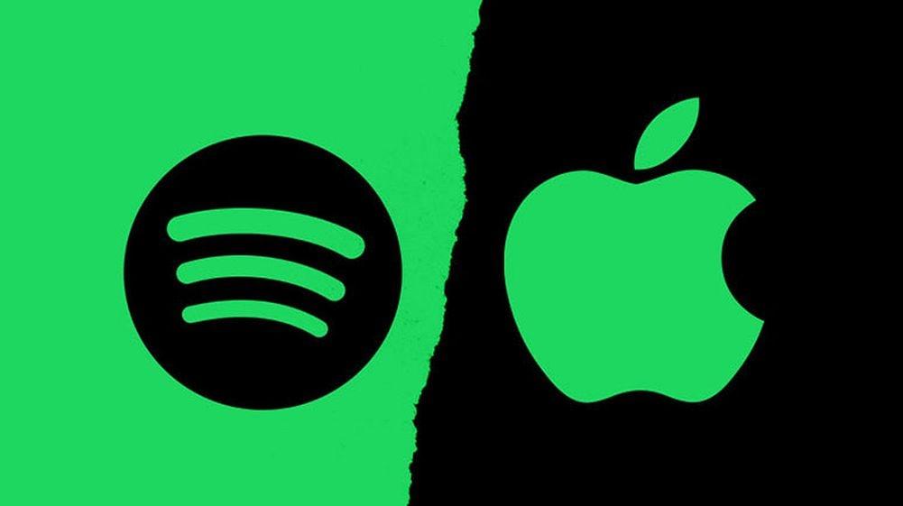 spotify apple 1 - Les artistes quittent Spotify pour Apple Music afin d'être mieux rémunérés