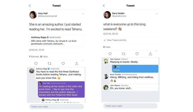 Twitter lance Twttr, une app qui met à l'honneur les conversations