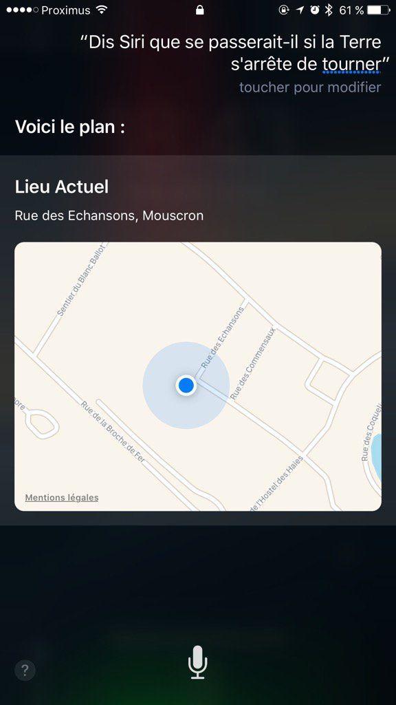 twitter siri - Siri : Apple cherche un employé pour surveiller les bourdes de Siri