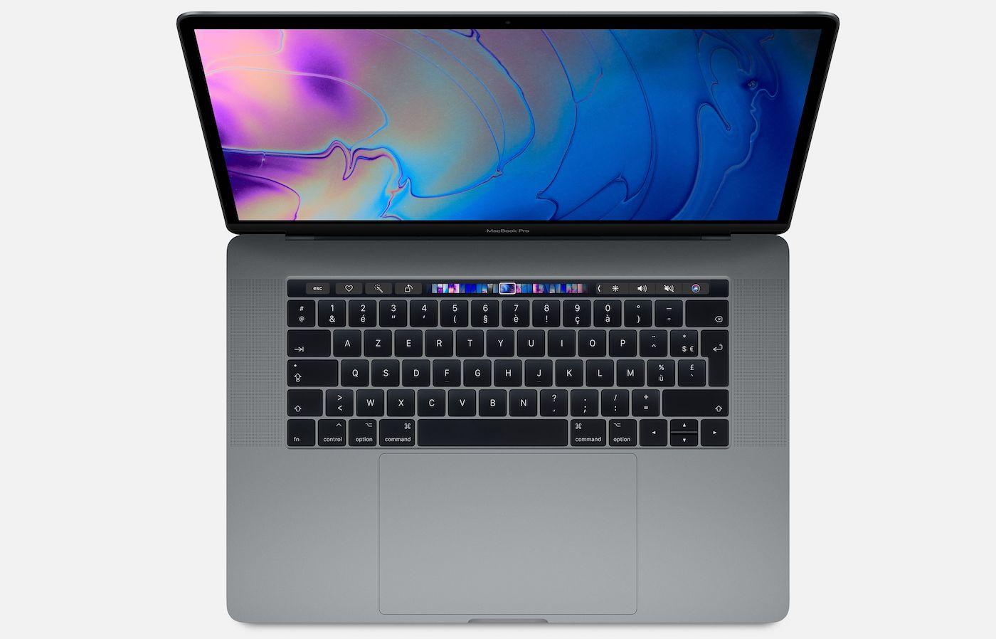 MacBook Pro 2018 15 Pouces Touch Bar - Apple actualise son catalogue et propose à 1499€ le Macbook Pro avec Touch Bar