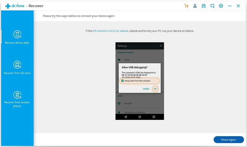 android recover device 07 - Comment sauvegarder sélectivement des données WhatsApp sur iPhone & Android ?