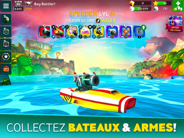Jeu du jour : Battle Bay (iPhone & iPad – gratuit)