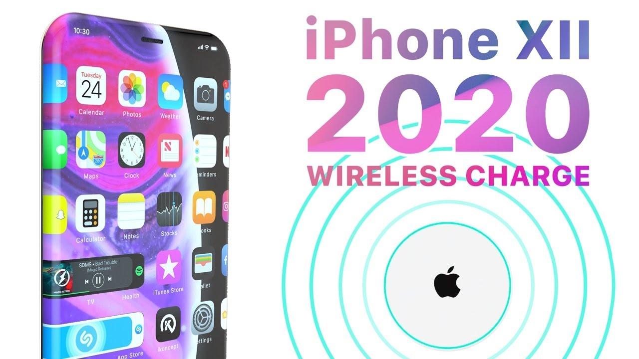concept iphone xii - iPhone XII : un concept avec un écran plus bord à bord que jamais