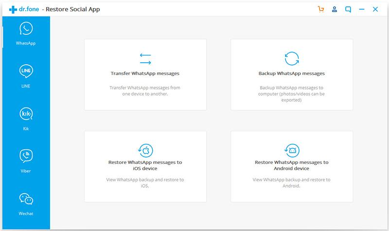 ios whatsapp backup 01 - Comment sauvegarder sélectivement des données WhatsApp sur iPhone & Android ?