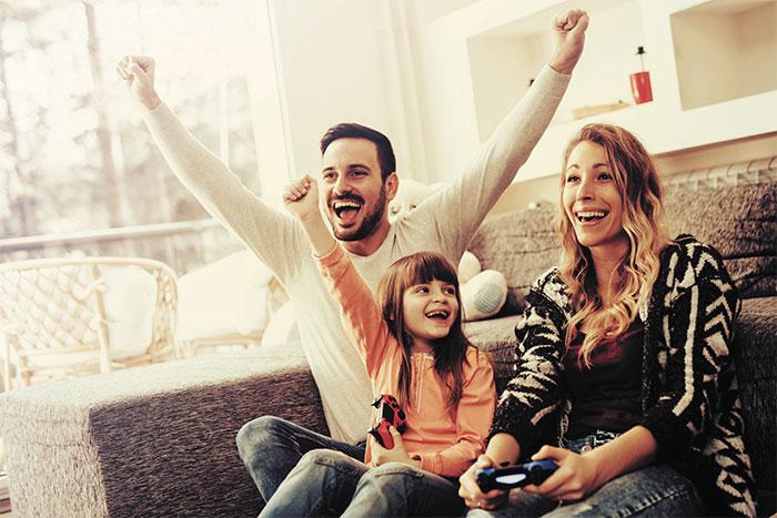 jeux video famille - L'OMS change d'avis et recommande les jeux vidéo