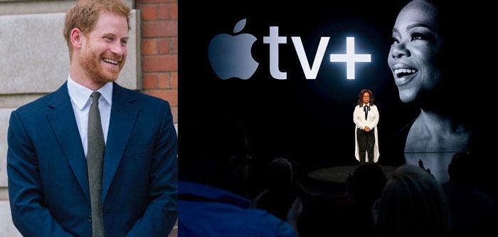Apple prépare un documentaire en collaboration avec Oprah Winfrey et le prince Harry