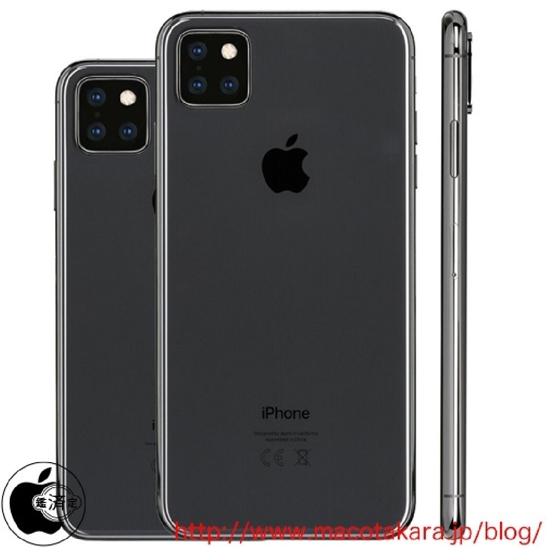 triple iphone camera macotakara - Apple : Pas un, pas deux… mais minimum 4 modèles d'iPhone pour 2019 !