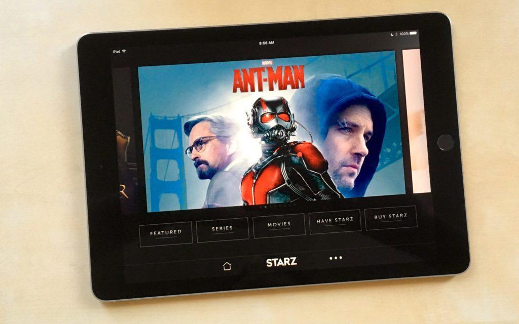 Apple tv starz 1024x640 - Starz : première chaîne de streaming de l'Apple TV
