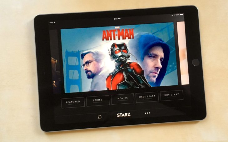Starz : première chaîne de streaming de l'Apple TV