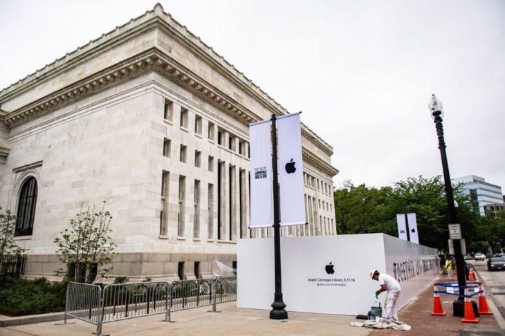 Apple rénove la bibliothèque Carnegie (Washington) et y installe un Apple Store