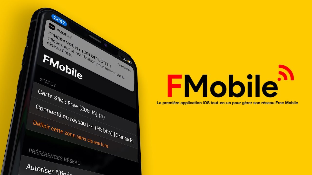 FMobile itinerance iOS free app - App Store : l'application FMobile de Free est disponible sur iPhone & iPad