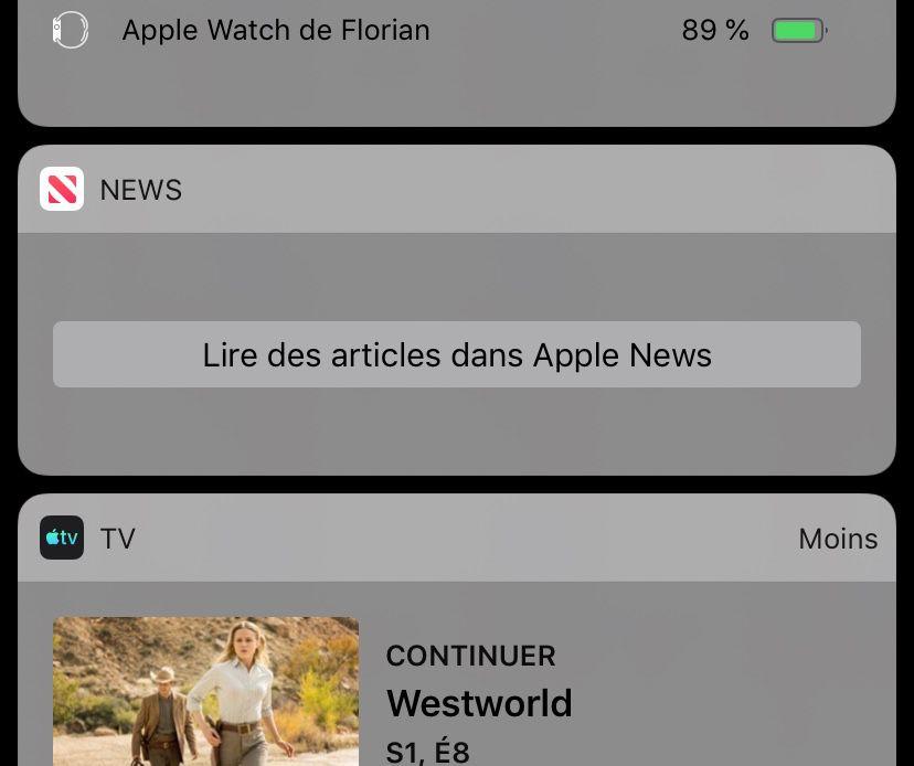 apple news widget panne - Apple News : le widget est en panne sur iOS !
