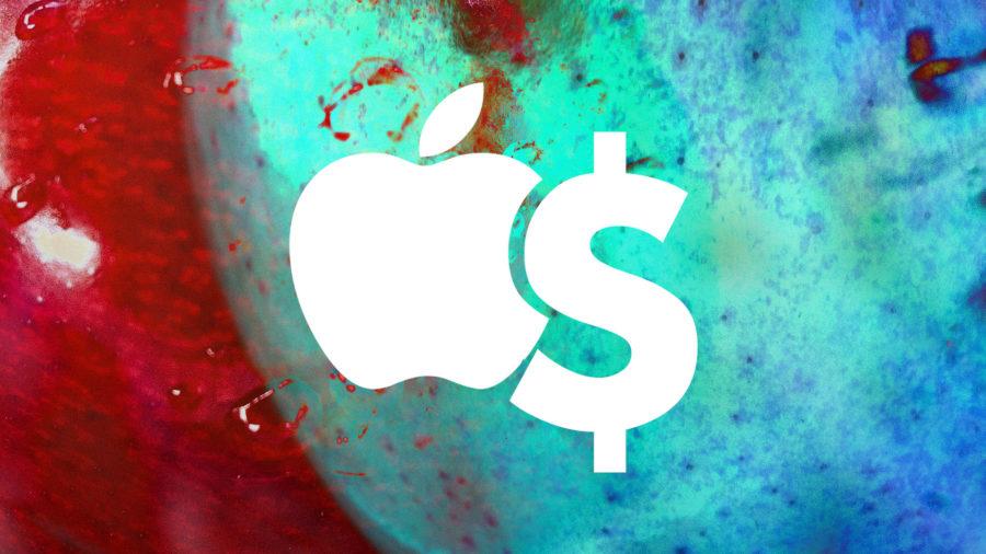 logo apple dollar e1557506795218 - Résultats financiers d'Apple : un chiffre d'affaires en baisse au Q2 2019