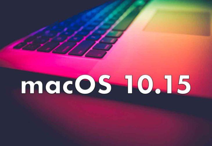 macOS 10.15 et watchOS 6 : les nouveautés dévoilées