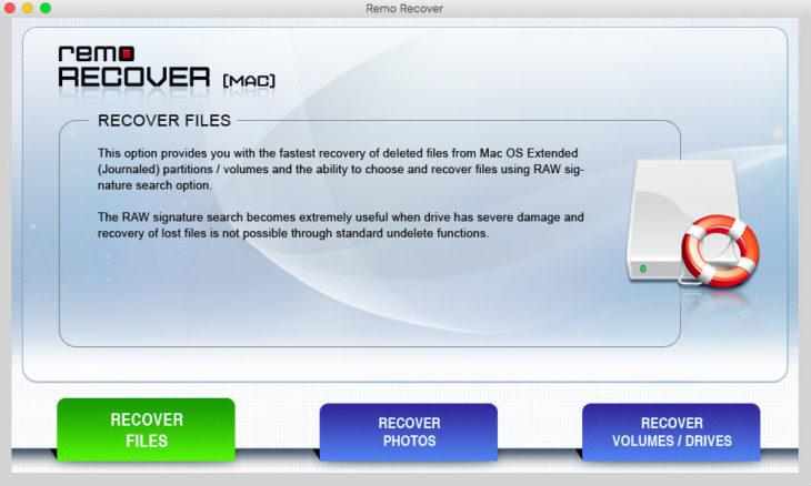 Remo Recover : récupérer simplement des fichiers supprimés sur Mac
