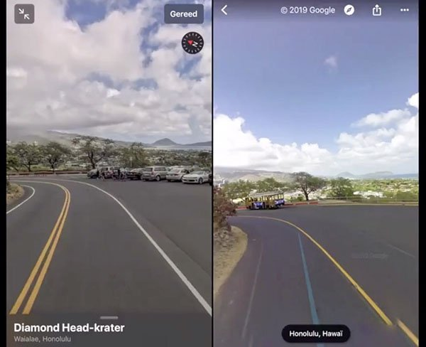 Apple : Google Street View sur le point de se faire atomiser par Look Around ?