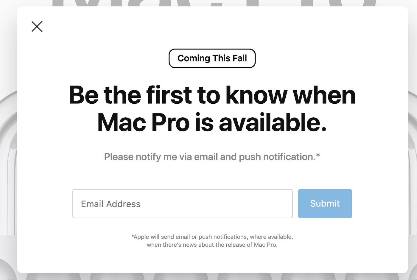 Mac Pro 2019 Dispo Automne - Le nouveau Mac Pro pourrait arriver en septembre selon le site d'Apple