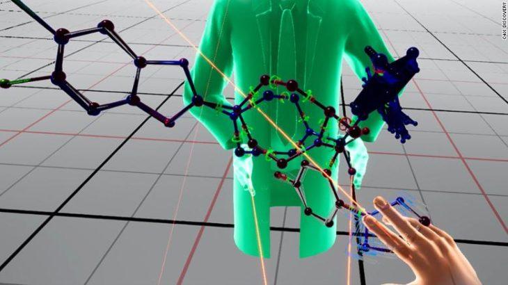 La réalité virtuelle aide les scientifiques à découvrir des médicaments