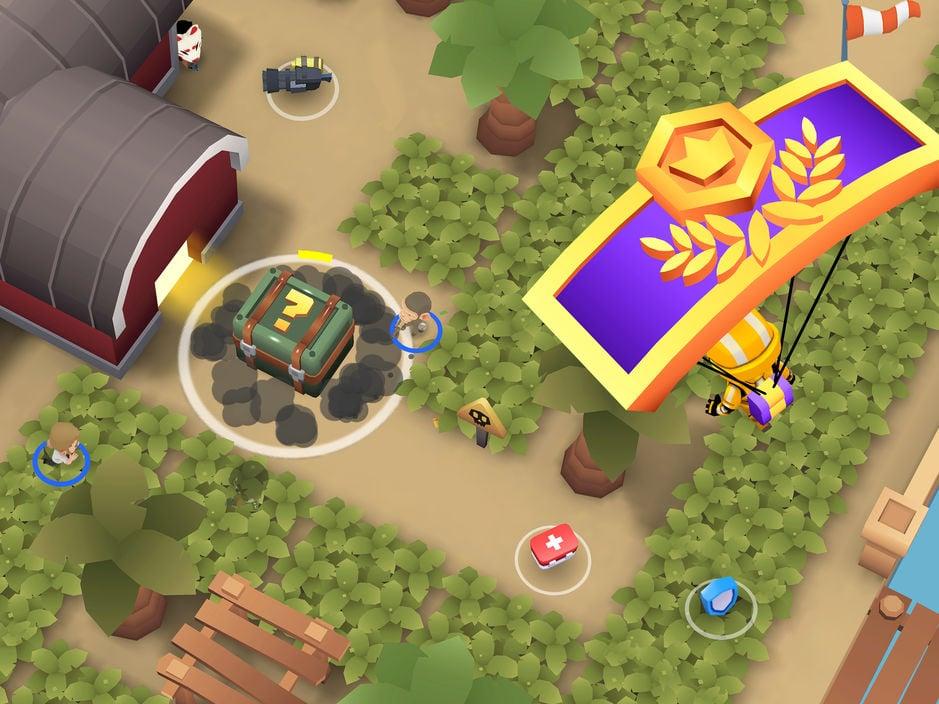 Battlelands Royale ios - Jeu du jour : Battlelands Royale (iPhone & iPad - gratuit)