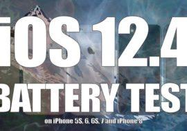 iOS 12.4 améliore l'autonomie des iPhone par rapport à iOS 12.3.1