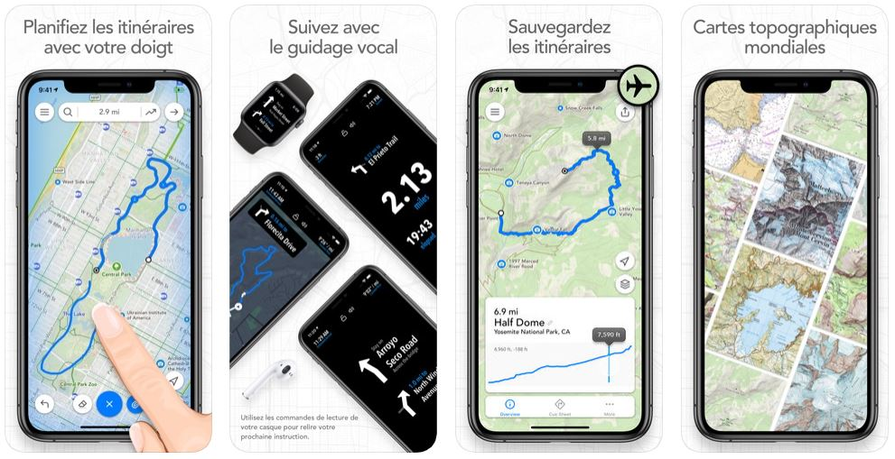 Footpath app - App du jour : Footpath - Mesure Distance (iPhone & iPad - gratuit)
