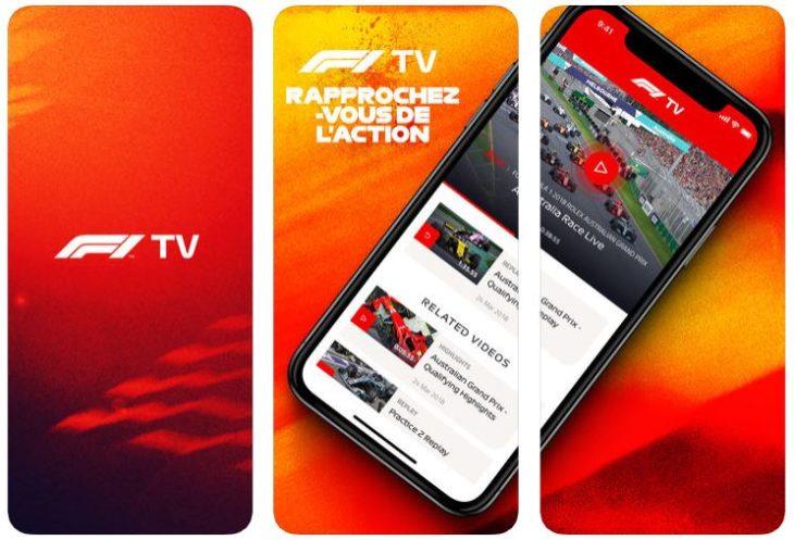 App du jour : F1 TV (iPhone & iPad – gratuit)