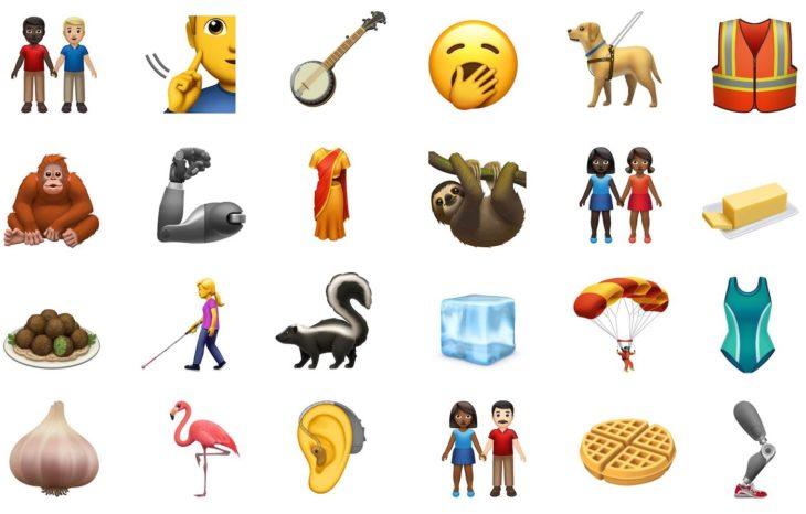Apple dévoile 59 nouveaux émojis prévus pour iOS 13
