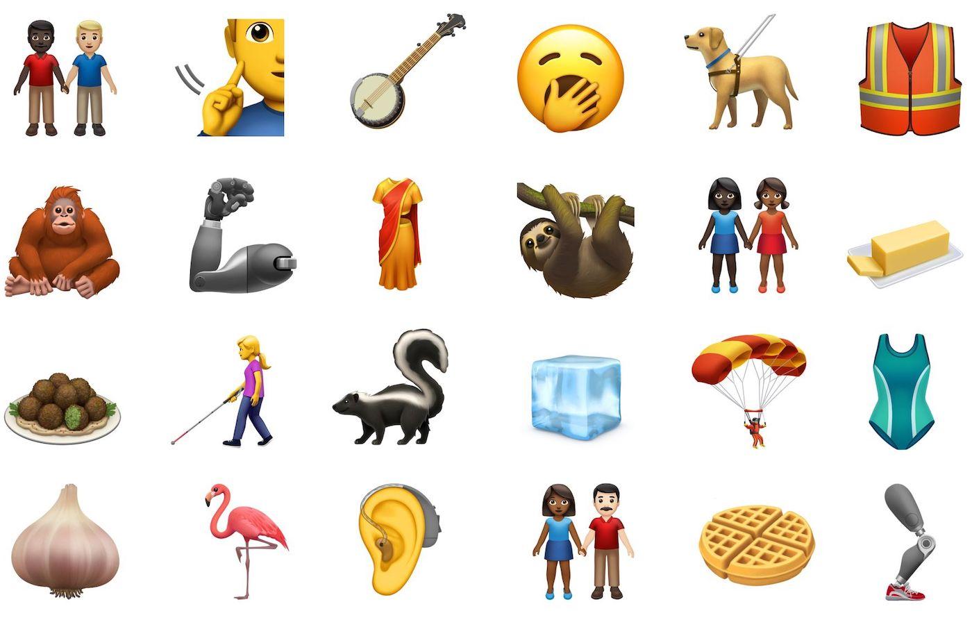 iOS 13 Nouveaux Emojis - Apple dévoile 59 nouveaux émojis prévus pour iOS 13