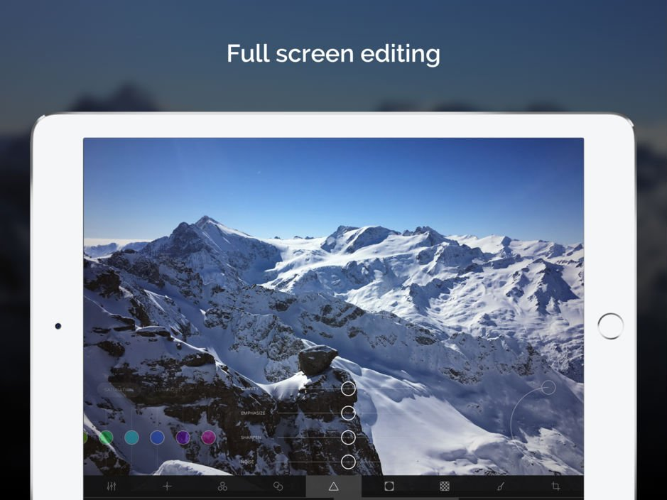 App du jour : Ultralight - Photo Editor (iPhone & iPad - gratuit)