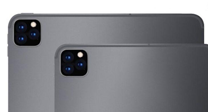 3 appareils photo sur l'iPad Pro 2019 et 2 capteurs sur l'iPad 10,2 pouces ?