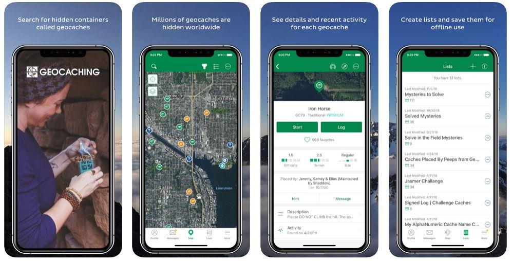 Geocaching - App du jour : Geocaching, ou la chasse aux trésors pour adultes (gratuit)