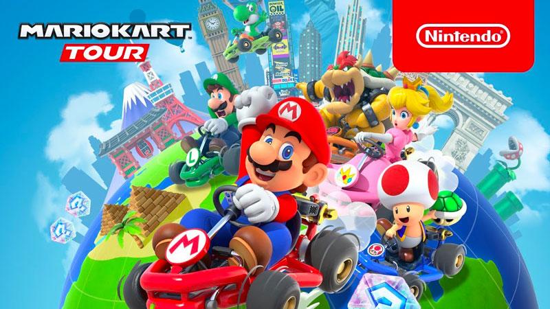 Mario Kart Tour bat tous les records : c'est le jeu mobile Nintendo le plus téléchargé lors du 1er mois !