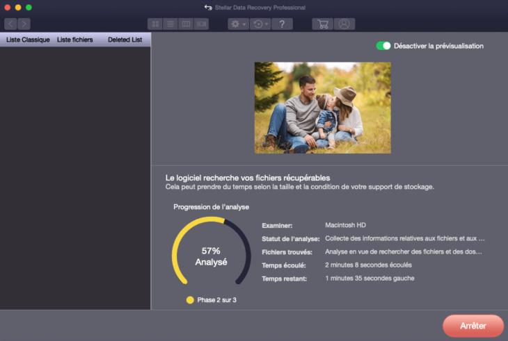 Stellar Data Recovery Professional : récupérer des fichiers supprimés (Mac & Windows)