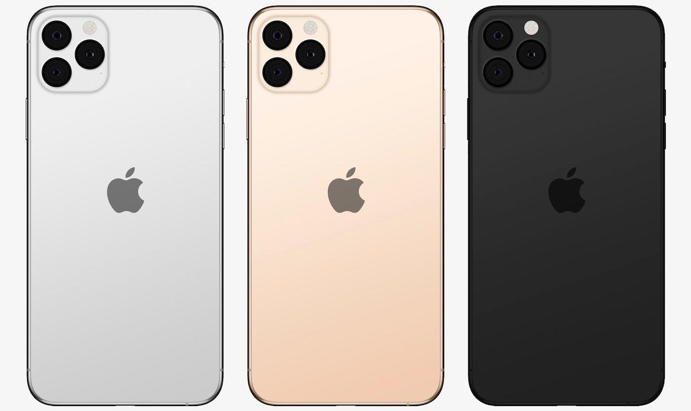 Maquette iPhone 11 - iPhone XI : la Pomme devrait être placée au centre de son dos !