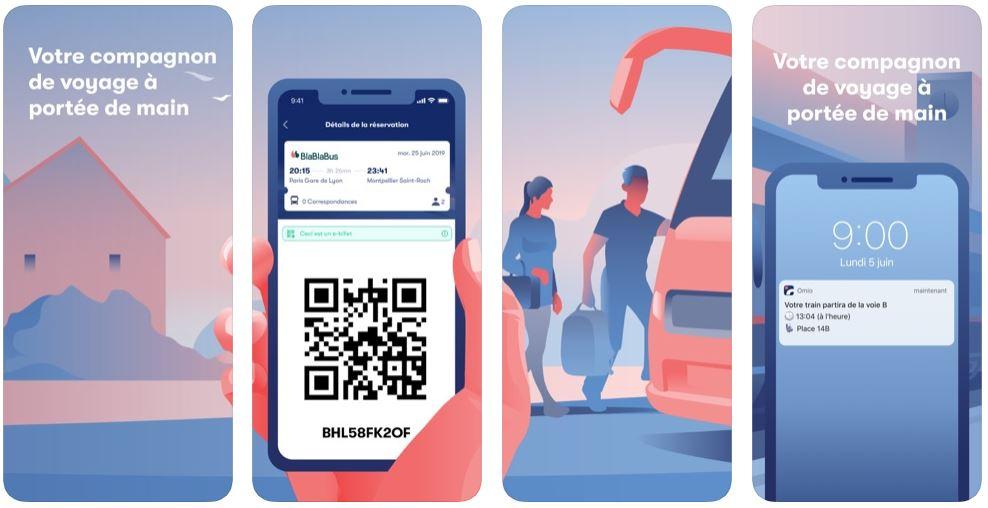 App du jour : Omio - Trains, Bus & Vols (iPhone & iPad - gratuit)