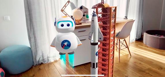 AR-kid : Space : une initiation à la réalité augmentée pour les enfants !