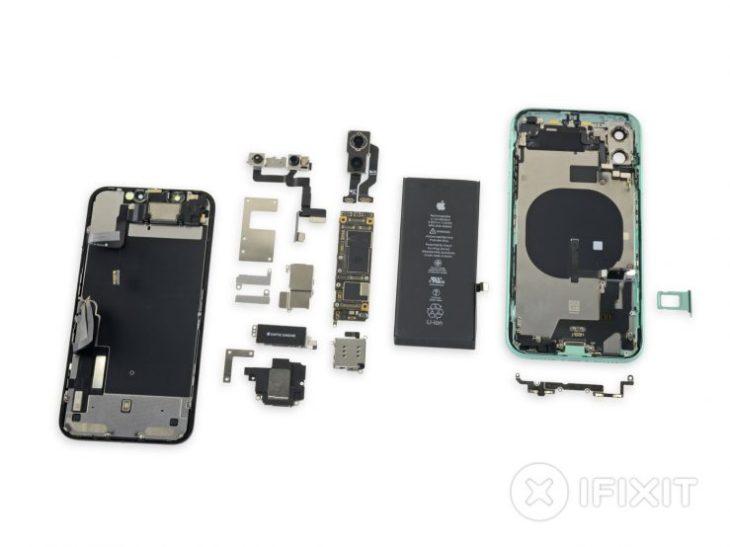 iFixit a démonté l'iPhone 11 : qu'a-t-il dans le ventre ?