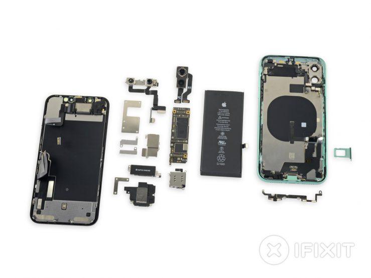 iFixit démonte l'iPhone 11