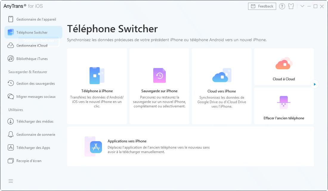 AnyTrans : LE successeur d'iTunes pour iPhone 11, 11 Pro & Pro Max