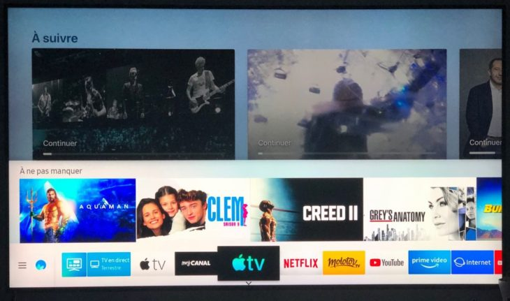 Apple TV+ sera disponible sur les Smart TV Samsung