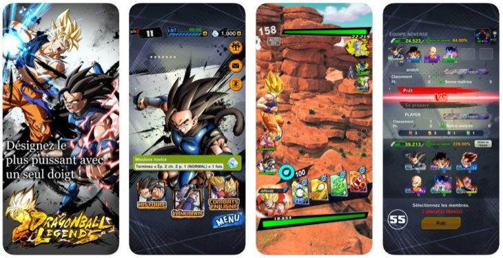 Jeu du jour : Dragon Ball Legends (iPhone & iPad – gratuit)