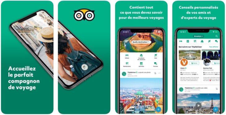 App du jour : TripAdvisor hôtels restaurants (iPhone & iPad – gratuit)