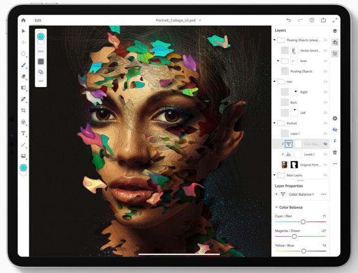 Photoshop Application iPad - Photoshop pour iPad : les fonctionnalités à venir dévoilées par Adobe