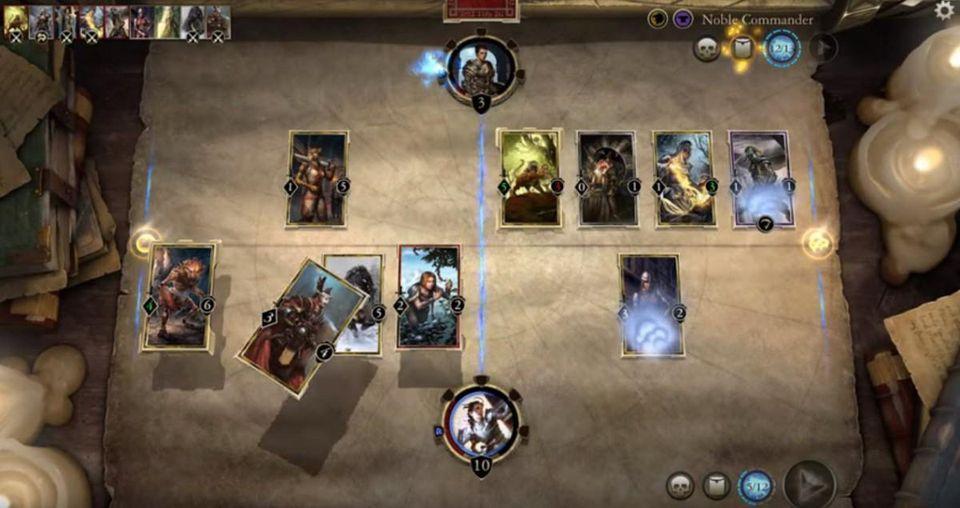 The Elder Scrolls Legends - Jeux de rôle, casino... les meilleurs jeux de cartes gratuits sur iPhone