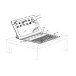 brevet ipad 150x150 - Brevet Apple : un clavier iOS adaptable