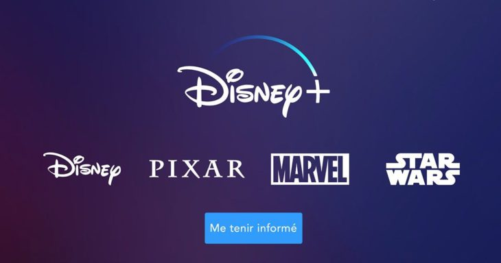 Disney+ disponible en France le 31 mars 2020