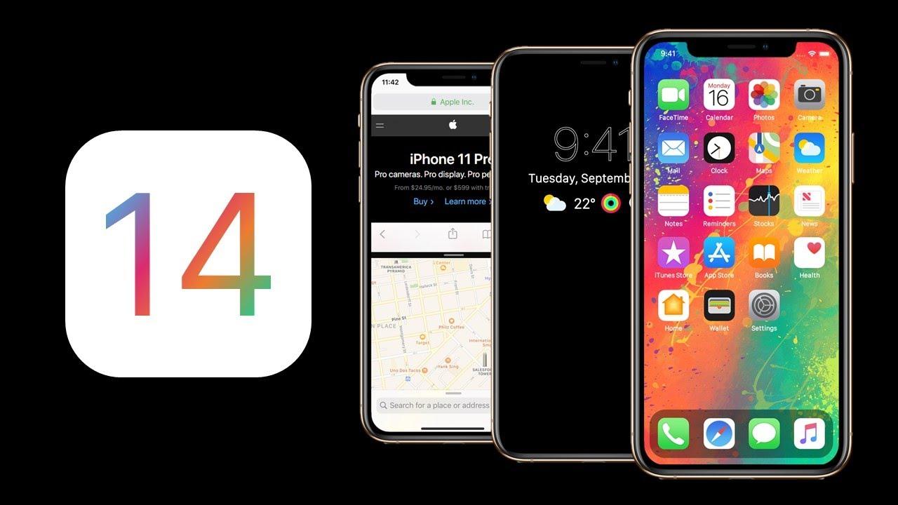 ios14 - Un premier concept pour iOS 14, plus pratique que jamais