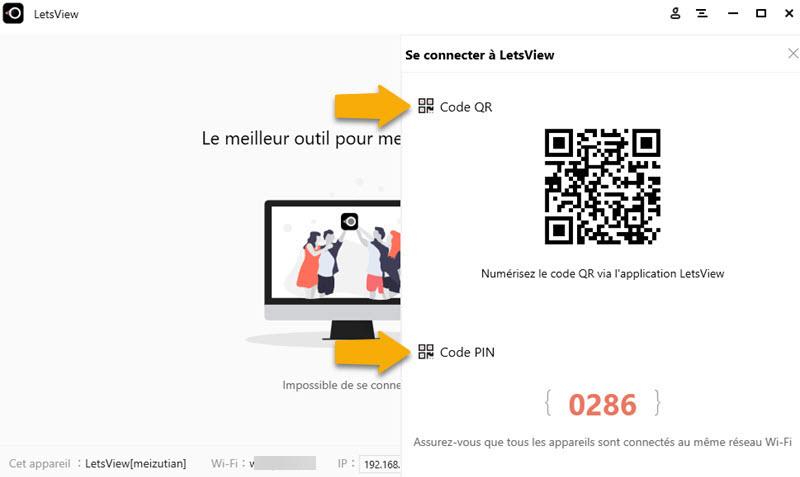 letsview 3 - LetsView : diffuser l'écran d'un iPhone sur un PC gratuitement